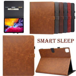 For iPad 9.7 10.2 Air Pro Mini Case Leather Magnetic Smart Flip Stand Safe Cover