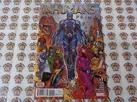 Inhumans Prime (2017) Marvel - #1, 1st Print, Jonboy CVR, Ewing/Sook, NM/-