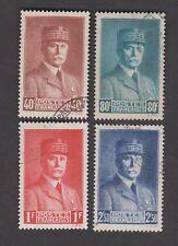 France -Timbres oblitérés - Maréchal Pétain - 1940