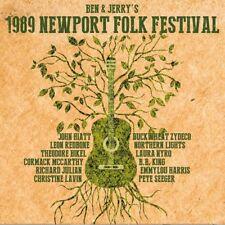 BEN & JERRY'S 1989 Newport Folk Festival 3 CD NEUF
