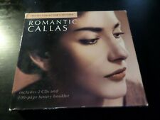 CD DOUBLE ALBUM - MARIA CALLAS - ROMANTIC CALLAS