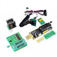 For Programmers 24 &25 Series FLASH CH341A + SOIC8 Clip + 1.8V +SOIC8 Adapter