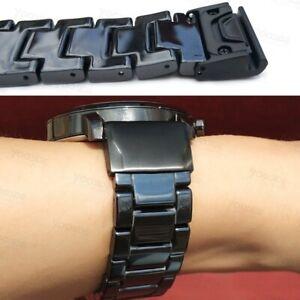 26mm Ceramic Butterfly Buckle for Garmin Fenix 5X/Fenix 5X Plus Watch Band Strap