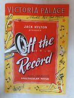 OFF THE RECORD - EDDIE CALVERT NAT JACKLEY ARTHUR WORSLEY RONALD ROGERS