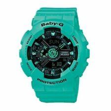 NEW Casio Women's BA-111-3A Baby-G Analog-Digital Display Quartz Green Watch