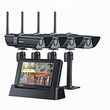 UNIDEN GUARDIAN G2740 DIGITAL WIRELESS SURVEILLANCE SYSTEM 24/7 SECURITY