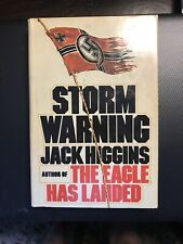 Storm Warning by Jack Higgins (1976, Hardcover) Book Club Edition