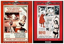 TWO THOUSAND MANIACS BLOOD RED HORROR FILMS COLLECTION NEW 2 MOVIES 2 DVD R4