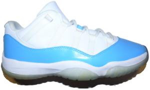 2017 Jordan University Blue Low 11 (Size 9) 528895-106 Read Description unc