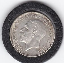 Very  Sharp  1926   King  George   V   Silver  Shilling  -  British Coin