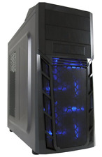 CASE LC POWER 974G IRON BLUE GAMING PORTE USB3 FRONTALE