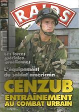 RAIDS N°246 FORCES SPECIALES ISRAELIENNES / CENZUB / EQUIPEMENT SOLDAT AMERICAIN