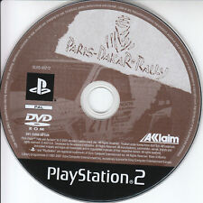 Paris ? Dakar Rally Aklaim Sony PS2 Game PlayStation 2 Pal