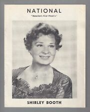 """Shirley Booth """"A LOSS OF ROSES"""" Warren Beatty (Debut) 1959 FLOP Tryout Program"""