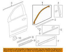 GM OEM Front Door-Reveal Molding Left 25975013