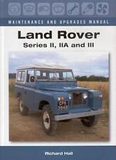 Land Rover Series II IIA III - Maintenance & Upgrades Manual - Buch book 88 109