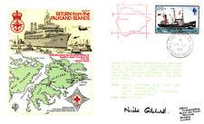 Rafes 32 retorno de las Malvinas RAF Cubierta firmado Gilchrist aguilucho GRN 7p