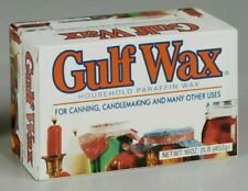 Gulf Wax Household Paraffin Wax 1 LB Box
