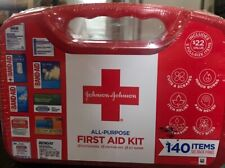 NEW SEALED Johnson and Johnson All-Purpose First Aid Kit 140 Pieces