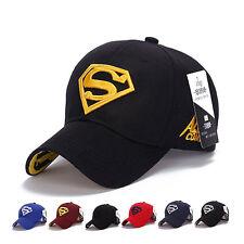 Men's Fashion Snapback Adjustable Fit Baseball Cap Superman Hip Hop Stretch Hat