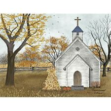 Billy Jacobs Blessed Assurance Church Country Art Print 16 x 12