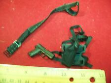 1/6th Scale Hot Toys Pistol, Holster & Belt #22