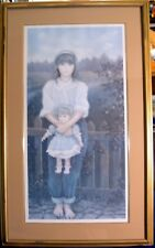 """Chantal Poulin Framed signed & numbered """" Inseparables """" XXL"""