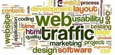Unlimited WORLDWIDE WEBSITE TRAFFIC For 3 WEBSITES/WEB LINKS FOR LIFE+100% SAFE