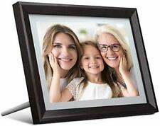 "10"" IPS Touch Screen HD Display Digital Photo Frame, 16GB Memory + Card Support"