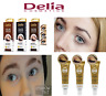 Delia Eyelash & Eyebrow Dye Tint Lash Kit Full Tinting Kit With Argan Oil *uk*
