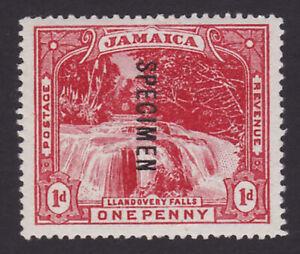 Jamaica. 1900-01. SG 31s, 1d red, specimen. Unmounted mint.