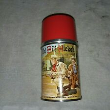 VINTAGE 1955 WILD BILL HICKOK AND JINGLES THERMOS
