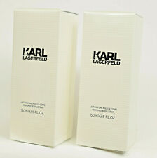 Karl Lagerfeld For Her   2 x 150ml  Perfumed Body Lotion  Fragrance NEW & SEALED