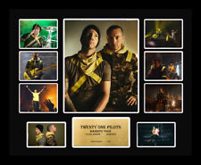 New 21 Twenty One Pilots Tour Signed Limited Edition Memorabilia Framed