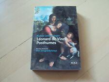 fiction LEONARD DE VINCI, POSTHUMES - Nadeije Laneyrie-Dagen