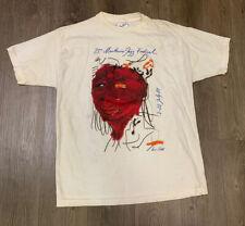 VTG 1989 Miles Davis Montreux Jazz Festival Luciano Castles T Shirt Size L