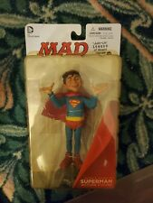 MAD Just Us League of Stupid Heroes 'Alfred E Neuman' as Superman Figure (NEW)