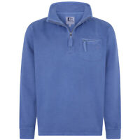 Lazy Jacks Men's LJ81 Pigment Dyed Sweatshirt Washed Blue