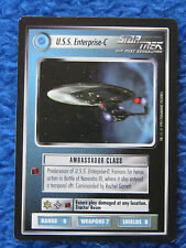 Star trek TNG Trading Card USS Enterprise-C Schwarzer Rand