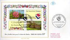 2849/50  BLOC N°15+ FDC  ENVELOPPE 1er JOUR CEF SALON DU TIMBREC1993