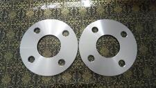 Two WHEEL HUBCENTRIC SPACERS 4X100MM | 5MM THICK | 57.1MM CB