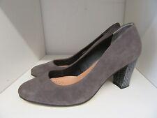 Van Dal Mink Suede & Snakeskin Court Shoes Size 6
