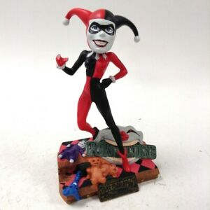 DC Comics Monogram Harley Quinn Bobblehead Figurine Collectable Used Unboxed
