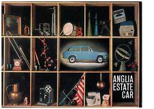 FORD ANGLIA ESTATE CAR BROCHURE, REF. B4528/4/63/ENG. EX.