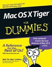 Mac OS X Tiger For Dummies,Bob LeVitus