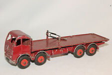 1950's Dinky #905 Foden Truck with Chains, Maroon Red, Original #2