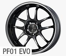 "ENKEI PF01 EVO 17x9"" Racing Wheel Wheels 5x114.3 ET 0/12/22 SBK BLACKISH SBK"
