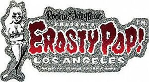 Rockin Jelly Bean Red Erosty Pop! Sticker Decal R34R