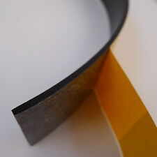 Recto noir ruban de mousse - 3 mm x 12 mm de large x 20 mètres de long