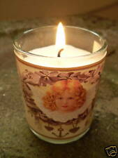 DANISH  ANGEL GLASS CANDLE VOTIVES,THEN USE AS A T-LITE HOLDER.